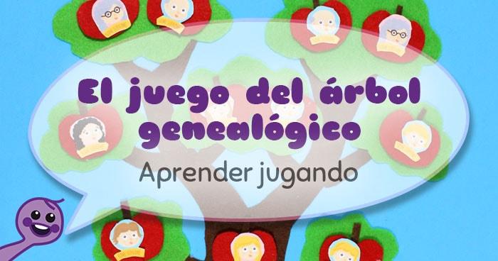 juego árbol genealógico para niños
