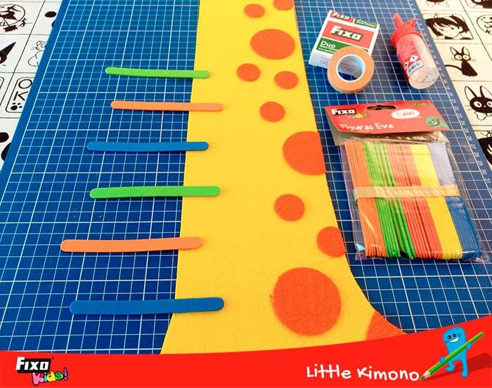 manualidades infantiles marcas jirafa