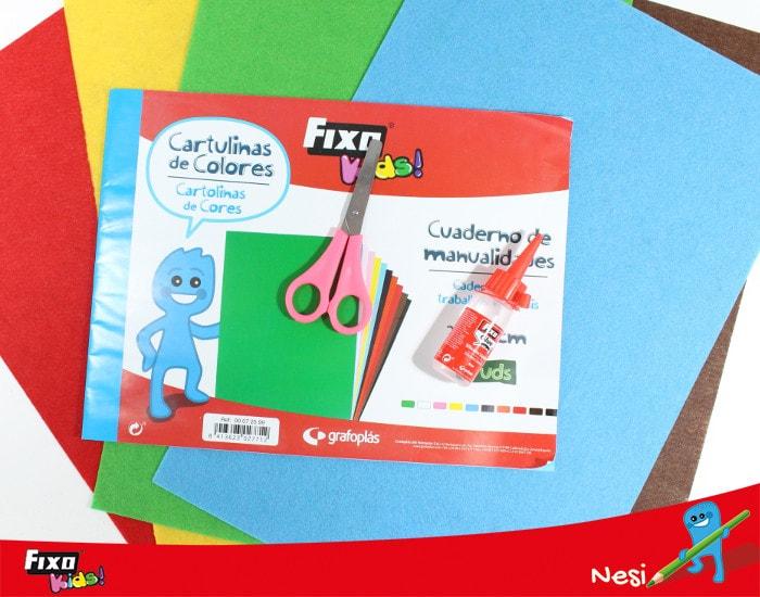 materiales para hacer un arbol genealogico para niños