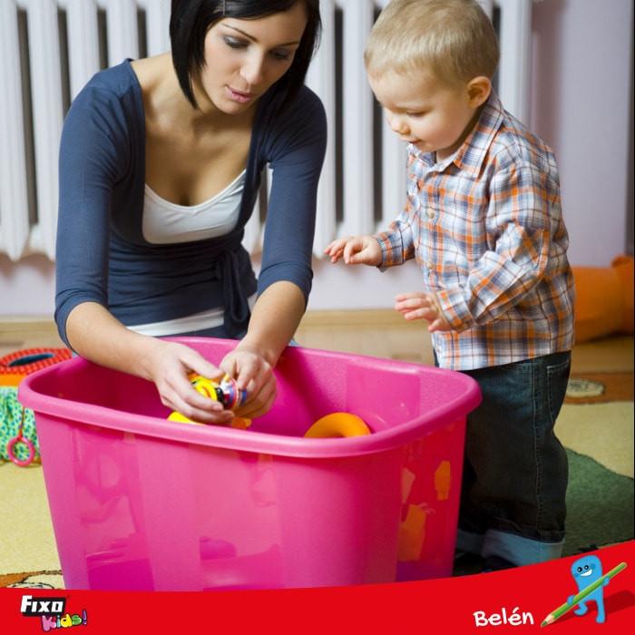 recoger juguetes tareas para desarrollar la responsabilidad