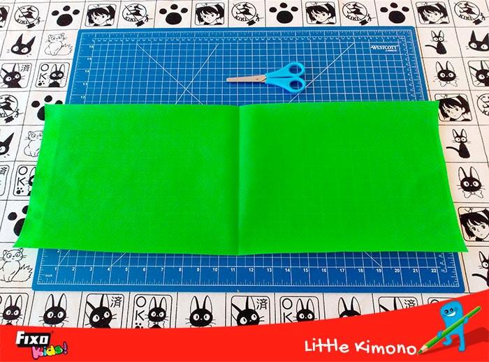 bolsa para niños con tela no tejido