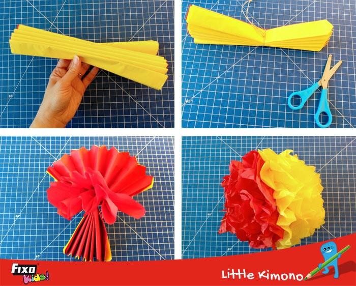 cómo hacer pompones decorativos