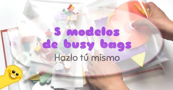 cómo mantener a los niños ocupados: busy bags