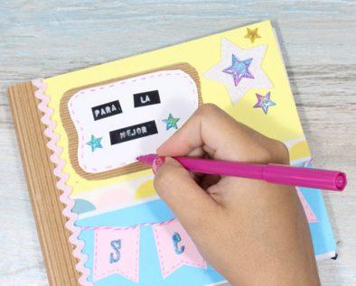 decorar libretas regalos para maestros