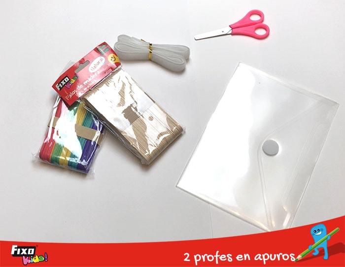 material de manualidades juego busy bags