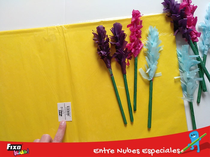 Cómo hacer ramo de flores con papeles