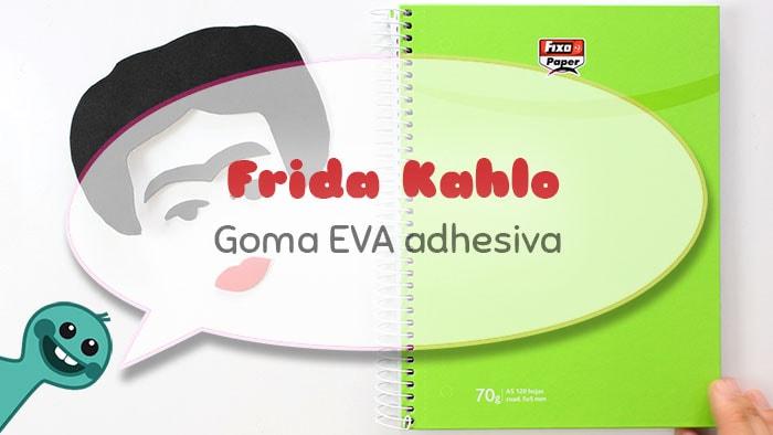 decorar cuadernos frida kahlo