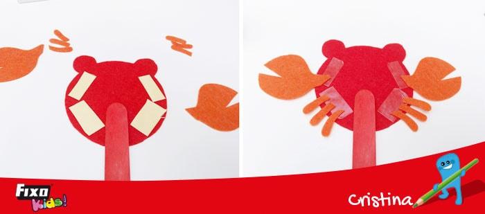 pegar fieltro con cinta adhesiva fixo duo