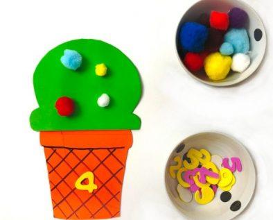 actividades para niños: aprender los números del 1 al 9