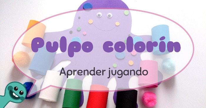 cómo aprender los colores jugando