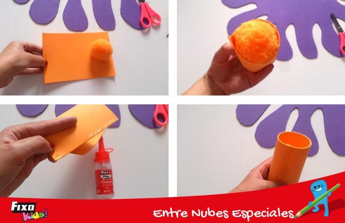 cómo hacer cilindros de foam para juego infantil