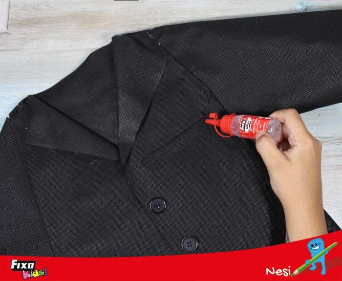 falso bolsillo para disfraces fáciles