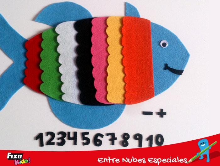 símbolos matemáticos para aprender sumas y restas