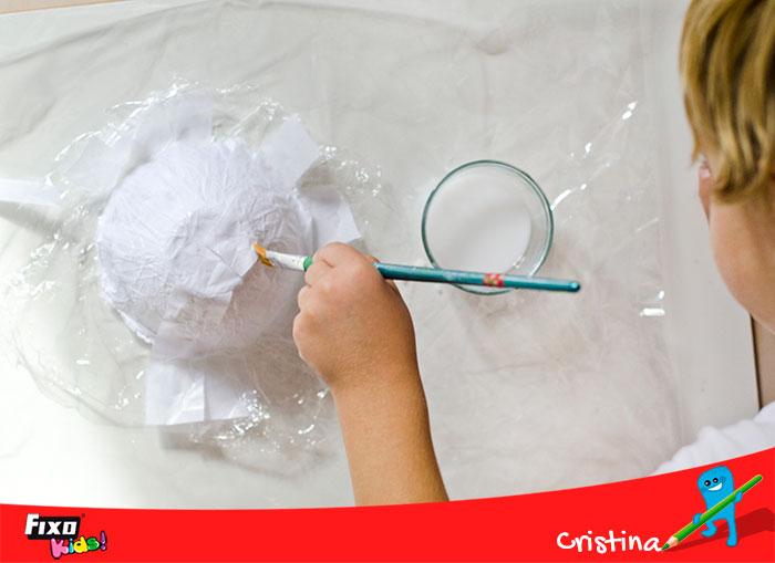 diy cuencos papel con decoración otoñal