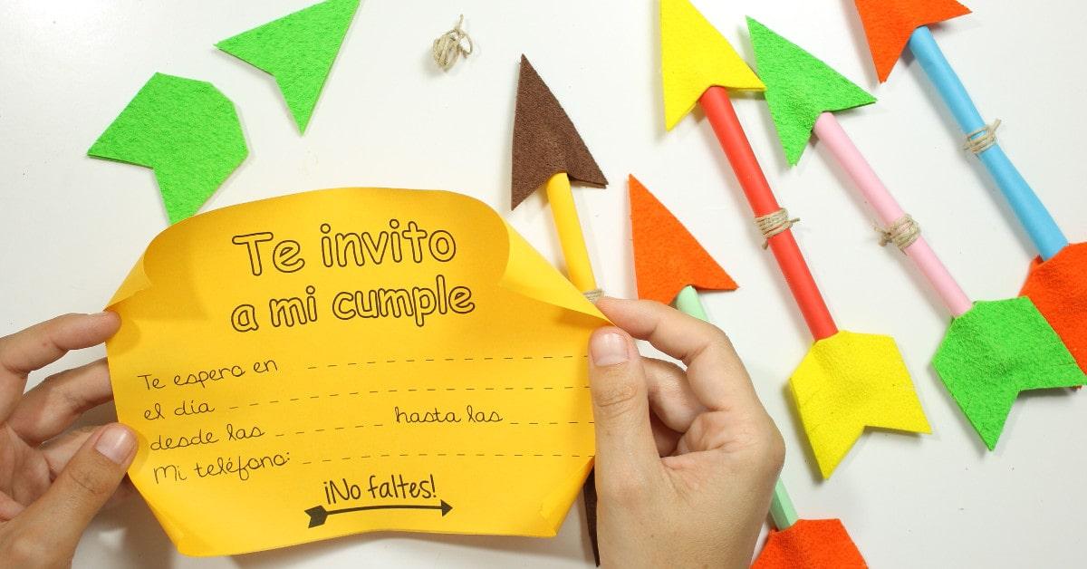 Crea Tú Mismo Invitaciones Para Cumpleaños Originales Fixo