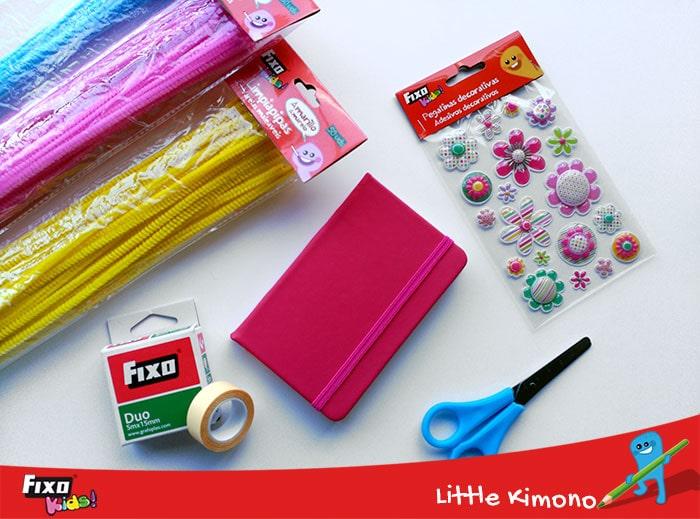limpipapipas de colores para decorar cuadernos