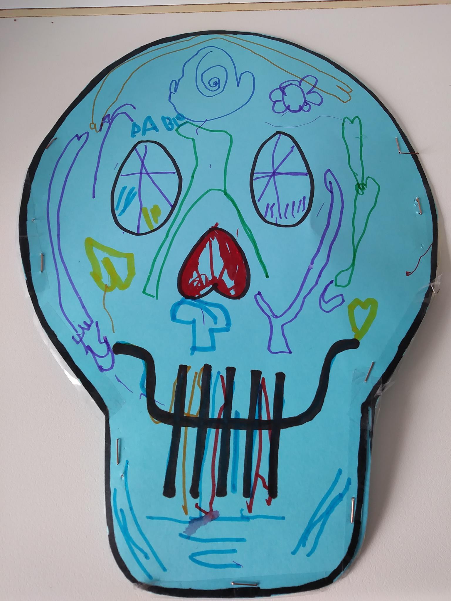 Ganadora concurso de máscaras Fixo Kids