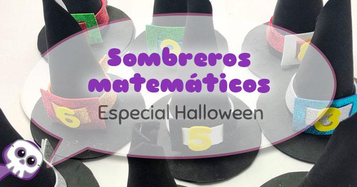 Actividades para el aula sombreros especial halloween