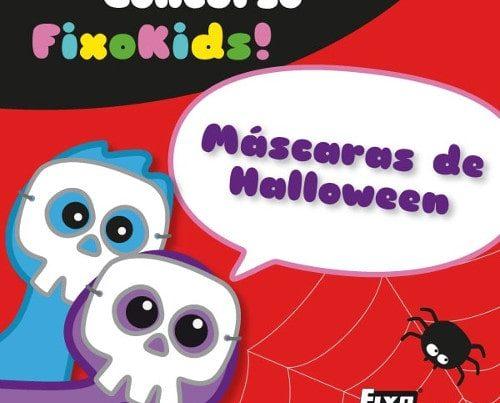 botón concurso de máscaras halloween