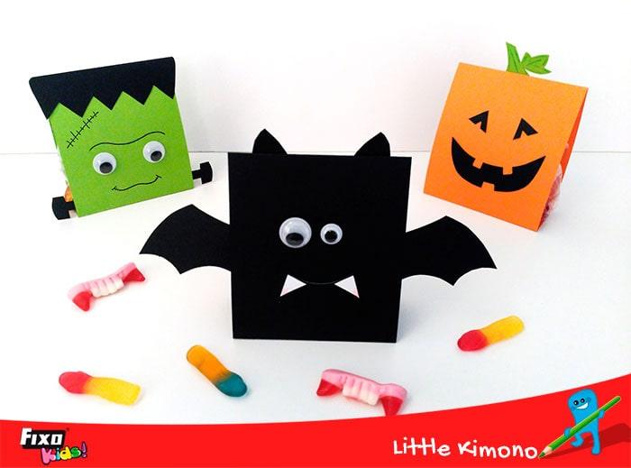 cajitas halloween para niños - diy infantil