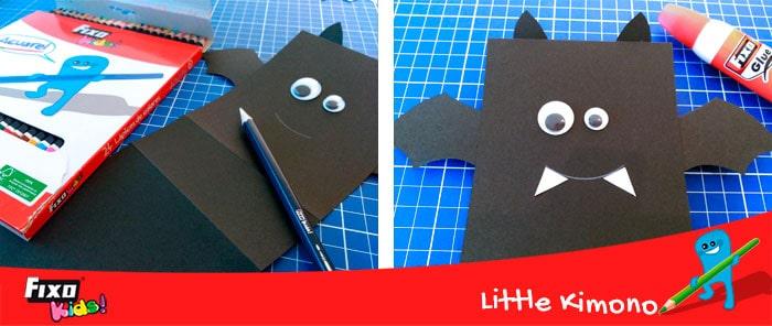 cómo decorar murciélagos manualidades para halloween