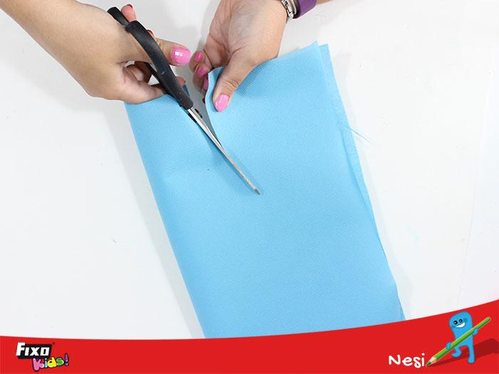 cómo hacer un delantal sin coser