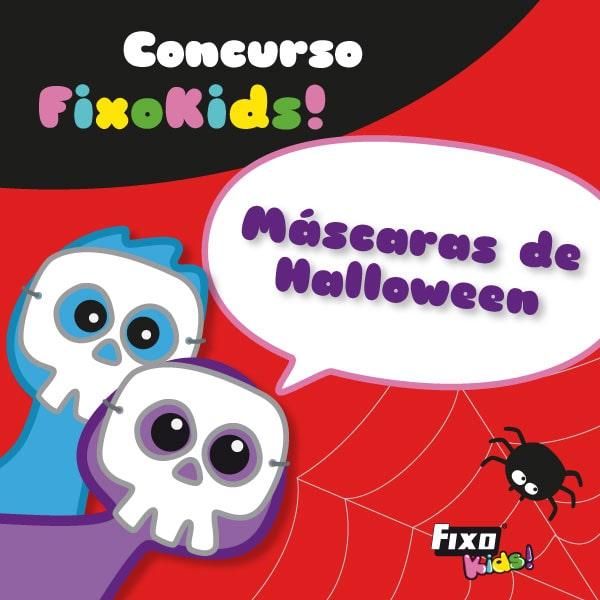 concurso infantil fixo kdis máscaras de halloween