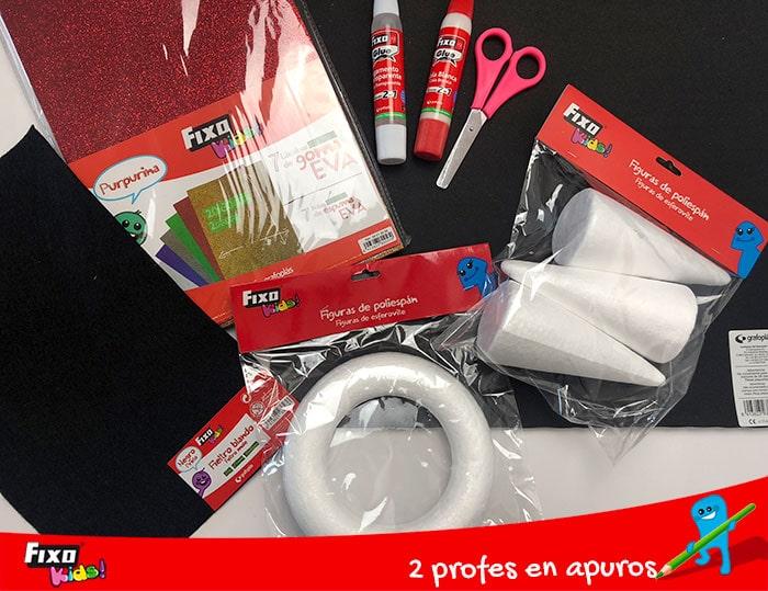 materiales para realizar actividades en el aula