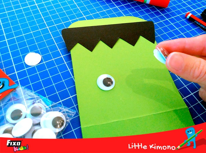 ojos adhesivos fixo kids manualidad para niños de halloween