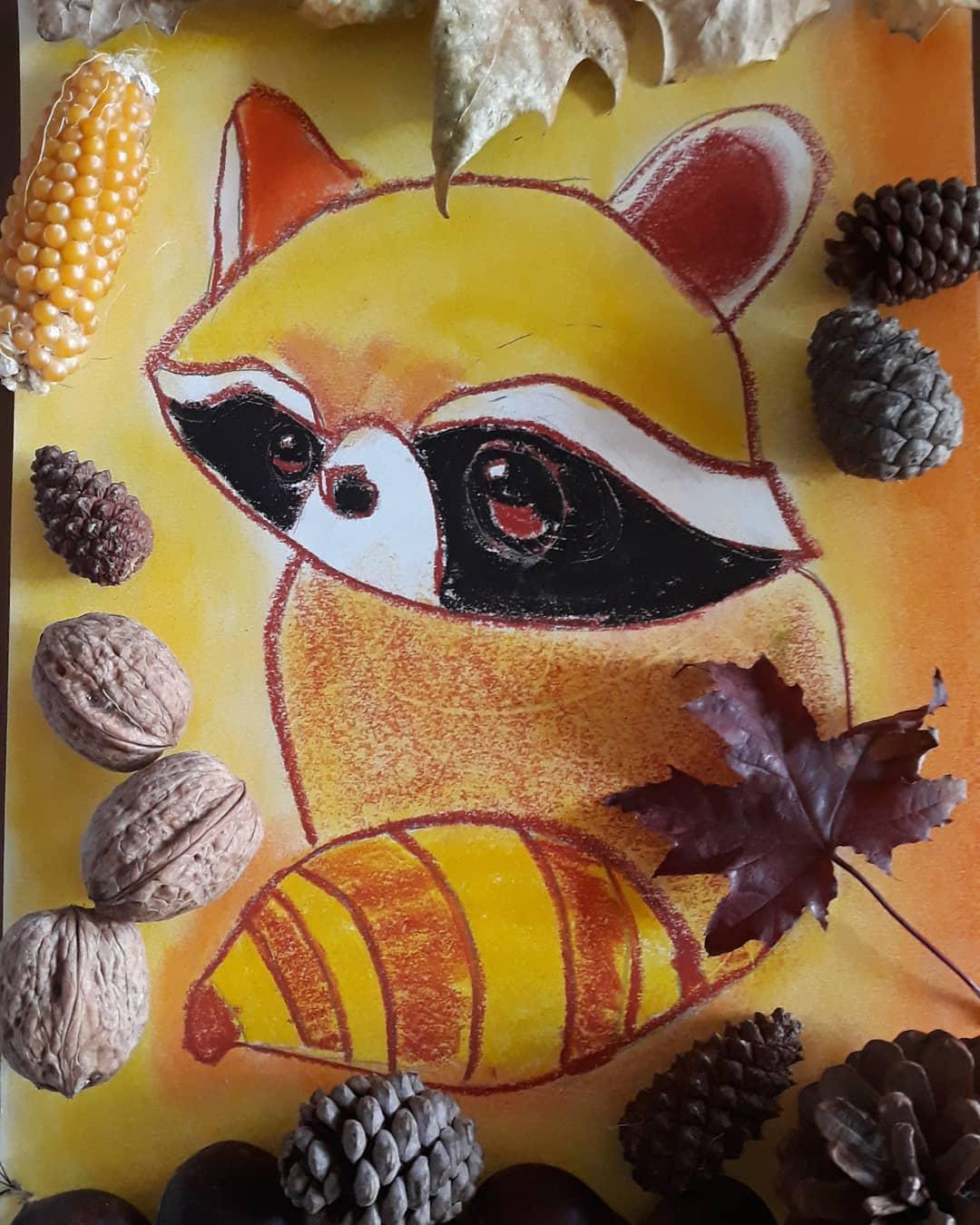 colorea tu otoño con Fixo Kids
