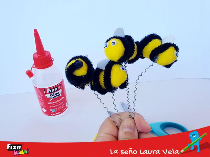 abejas faciles hacer para recursos didacticos
