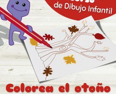 concurso Colorea el otoño
