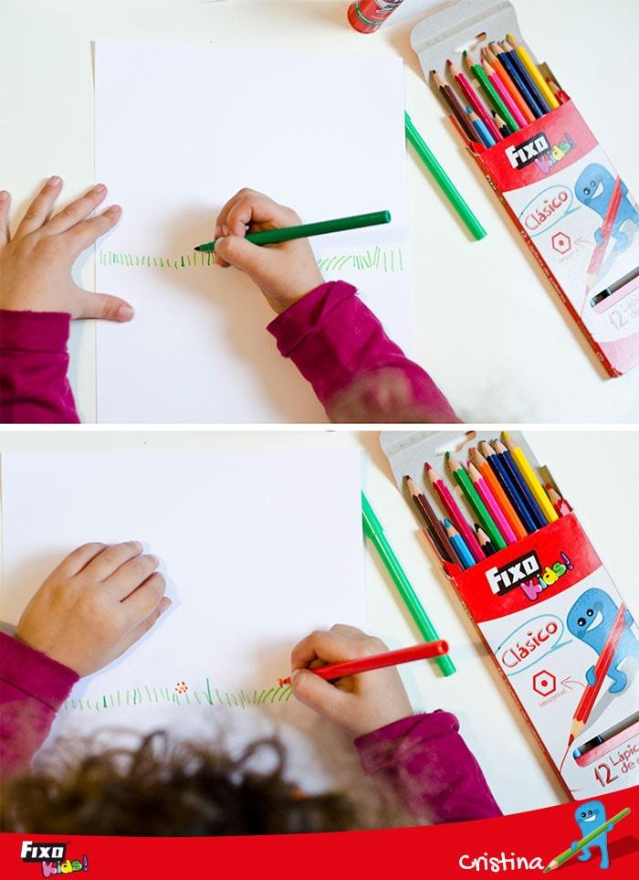 dibujos intantiles rotuladores clásicos Fixo Kids