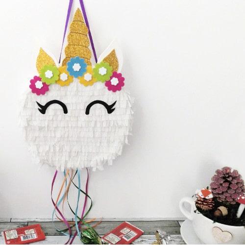 diy piñata unicornio