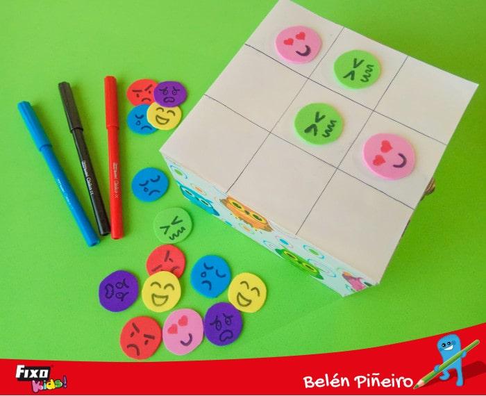 juego para niños tres en raya