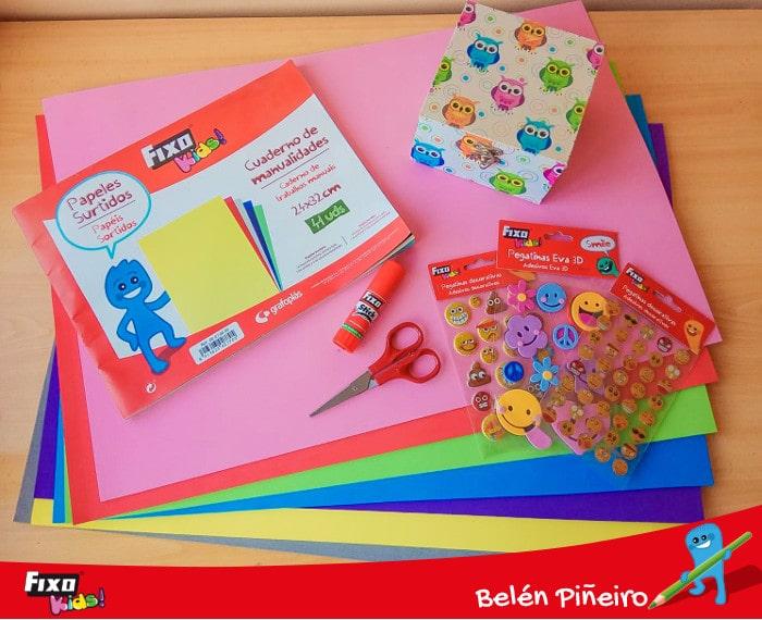 materiales de manualidades educación emocional