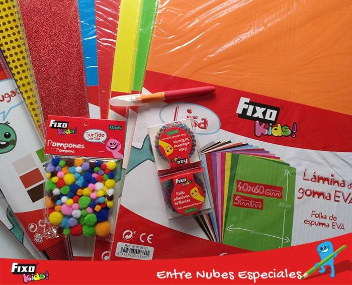 materiales para hacer panel sensorial para niños