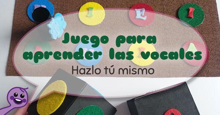 aprender las vocales y colores juegos de mesa