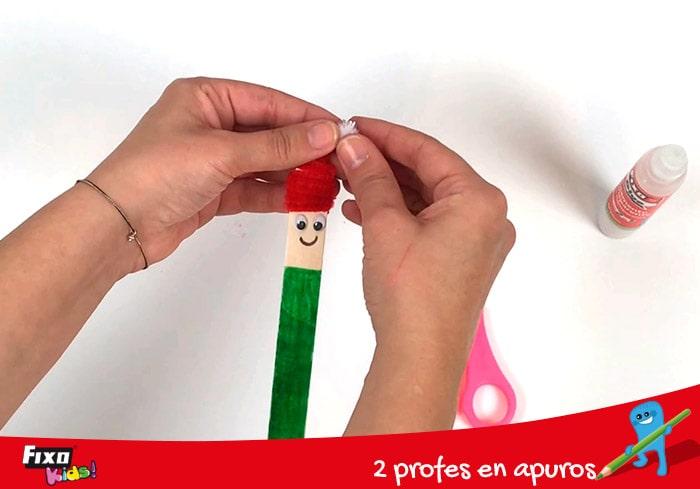 cómo decorar un elfo para niños