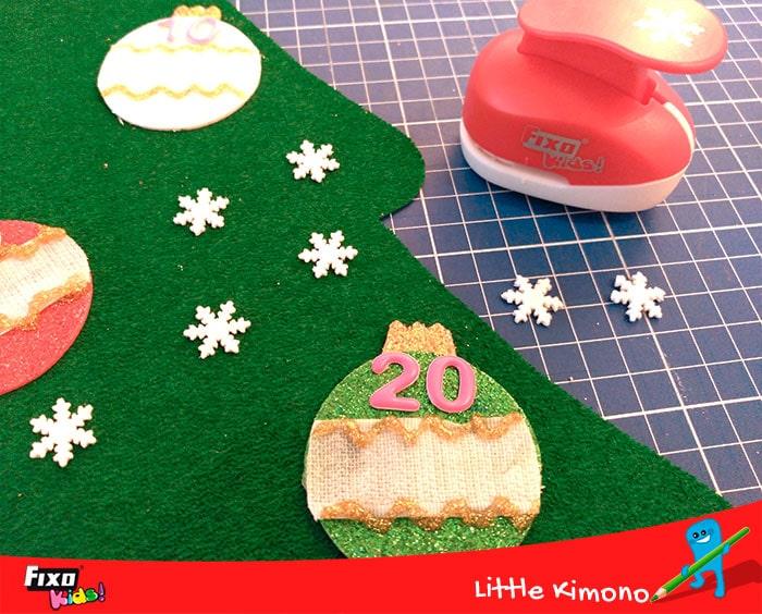 como hacer decoraciones navideños con troqueladoras fixo kids