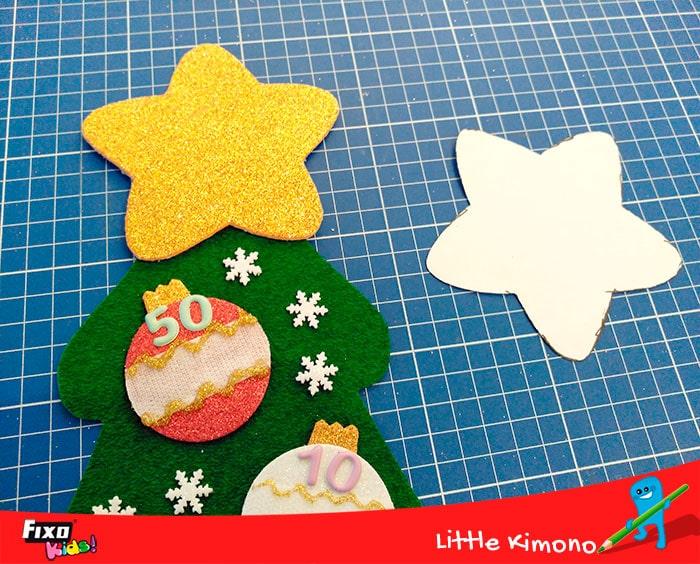 cómo hacer una estrella para el árbol de navidad