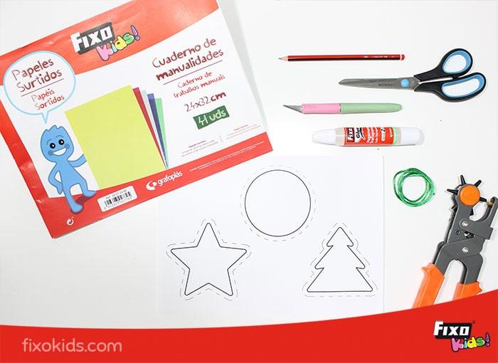 cuaderno de manualidades surtidas Fixo Kids