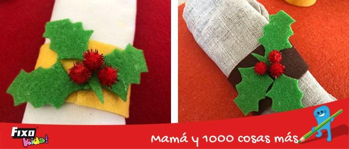 diy navidad servilleteros faciles para niños