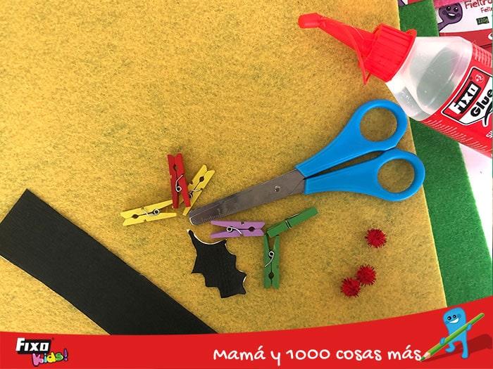 material de manualidades fixo kids para hacer con niños