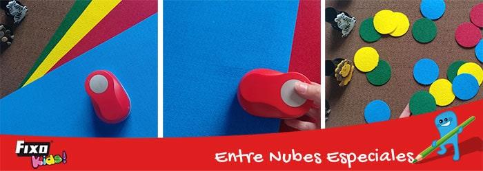 perforadoras con formas para hacer juegos para niños