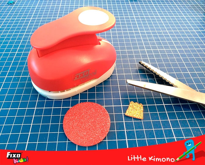 perforadora formas círculo fixo kids