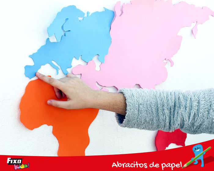 actividades para utilizar un mapa del mundo en el aula