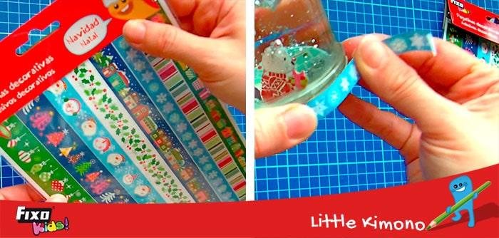 cintas adhesivas fixo kids para decoraciones infantiles