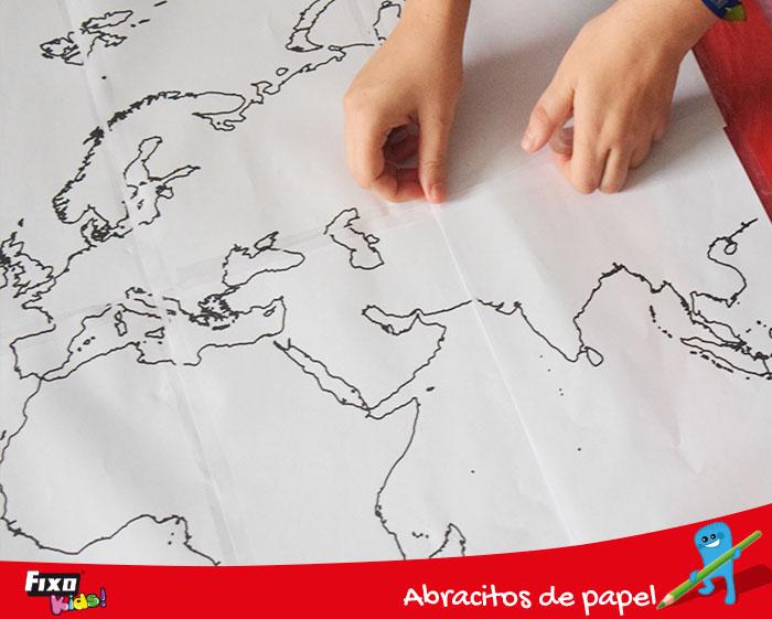 cómo hacer un mapa del mundo con fiso