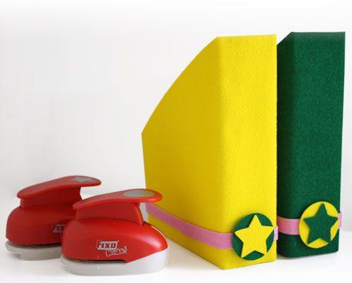 diy archivadores reciclaje creativo con goma eva y cajas de cartón